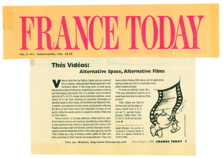 France Today mars avril 1998poursite